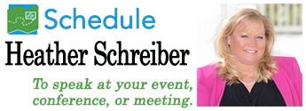Schedule Heather Schreiber for your conference or event